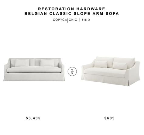 restoration hardware cloud sofa knock restoration hardware belgian slope arm sofa