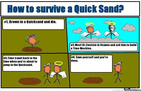 How To Make A Meme Video - how to survive a quicksand by legendarybrucelee meme center