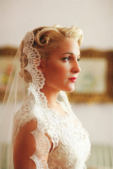 Vintage Inspired Wedding Hairstyles by Retro Inspired Wedding Hairstyles 3 Dipped In Lace