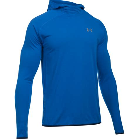 Hoodie Jaket Sweater Armour Athletics armour mens streaker pull hoodie in blue excell sports uk