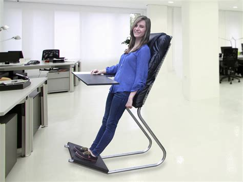 shoes for standing desk standing desk backrest leanchair technabob