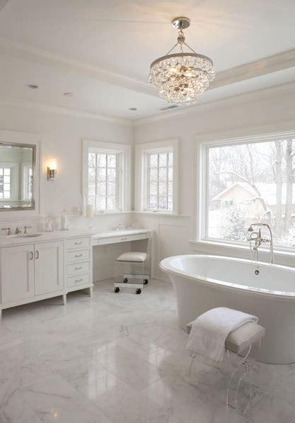 lucite chair transitional bathroom milton development