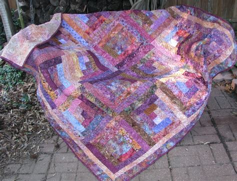 quilted sofa throw lap quilt sofa quilt quilted throw log cabin bali batiks