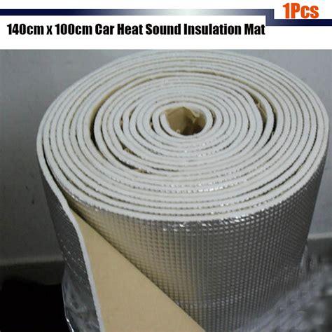 car sound heat insulation deadener mat alumium foil firewall 1pcs car sound heat insulation mat pad aluminum foil