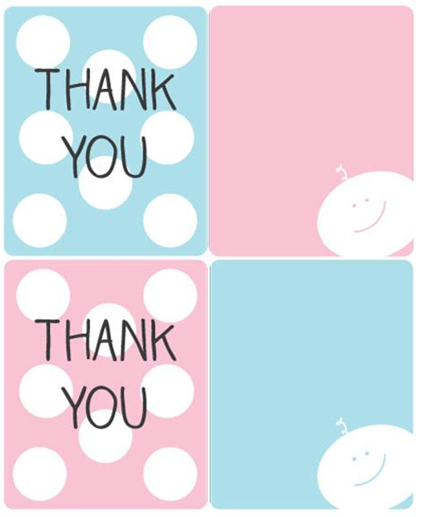 Printable Thank You Tags For Baby Shower Favors by Baby Shower Thank You Gifts With Free Printable Gift Ideas