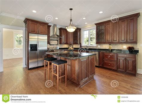 new construction kitchen kitchen in new construction home royalty free stock photos