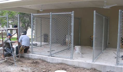 chain link kennel panels chain link fence tx chain link fencing company fence inc