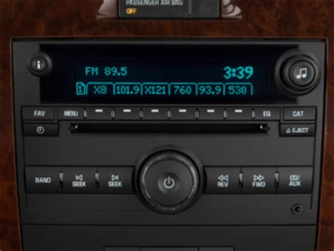 2010 chevy impala radio swap us8 fleet/rental spoonjab