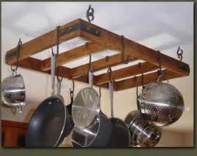 rustic country primitive hanging pot rack flickr photo