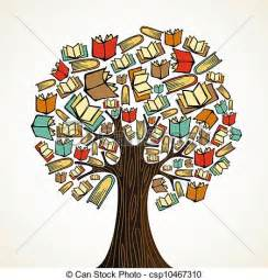 Custom Home Plans And Pricing vector clip art of education concept tree with books