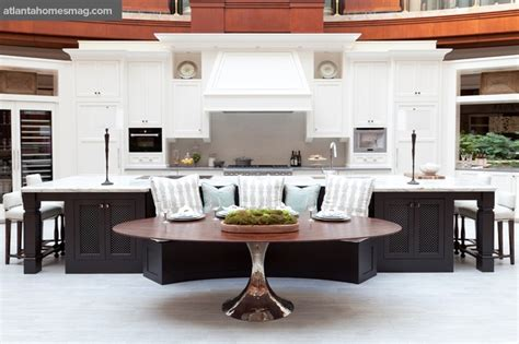Kitchen Island Built In Banquette Space Savers Built In Island Banquette The Room