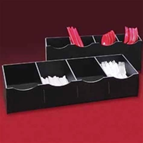 Countertop Utensil Organizer by Displays By Rioux Condiments Cups Napkin Organizers Holders