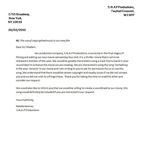 Permission Letter To Use School Grounds snap media letters seeking permission for use of