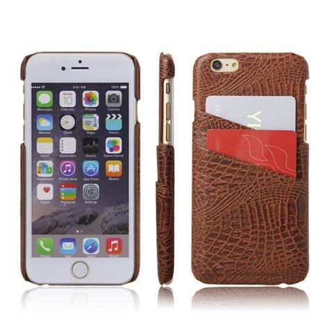 Iphone 6 Mewah mewah asli kasus leng keng kulit untuk apple iphone 6 6s