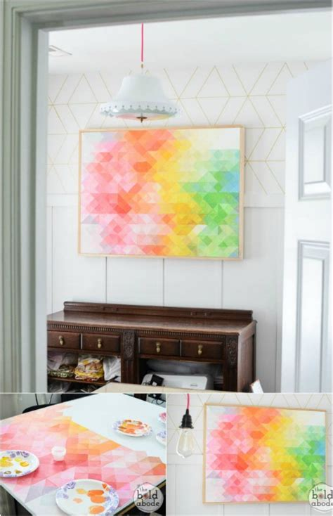 livelovediy 10 diy art ideas easy ways to decorate your walls livelovediy 10 diy art ideas best free home design