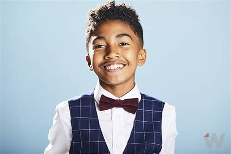 miles brown america s got talent miles brown dishes to thewrap about grown ish and his