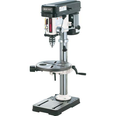 bench top drill presses free shipping shop fox oscillating benchtop drill press 13in 3 4 hp 120v