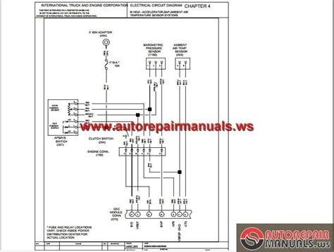 4700 international truck wiring diagrams fuse box and