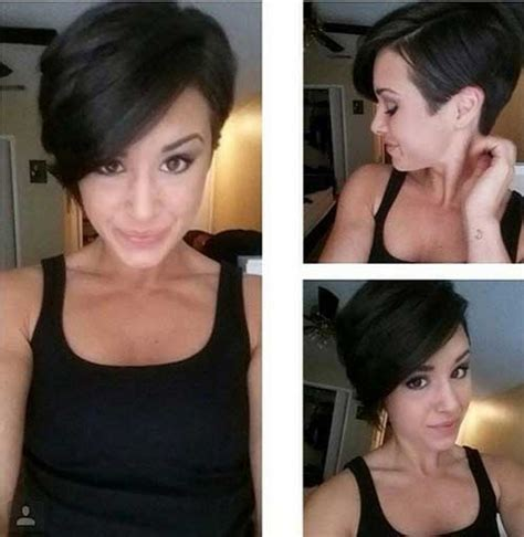hairstyles 2015 shorter or sides and longer in back 20 best pixie cut 2014 2015 short hairstyles 2016