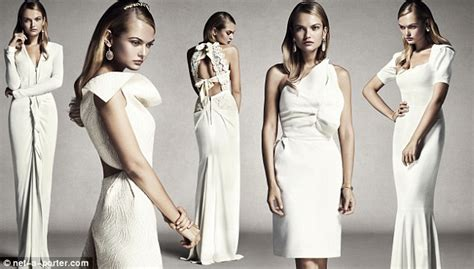 Roland Mourets New Gap Collection Revealed by Roland Mouret S Debut Bridal Collection Unveiled On