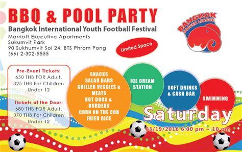 Invitation Letter For Youth Festival Invitation Letter Bangkok Soccer League
