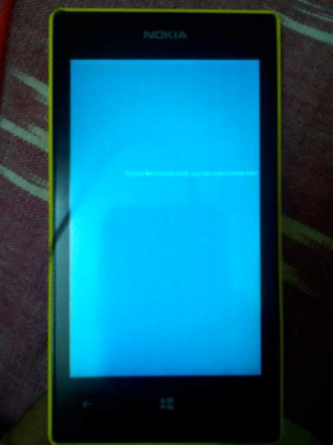 resetting nokia lumia 520 blue screen freeze during reset windows central forums