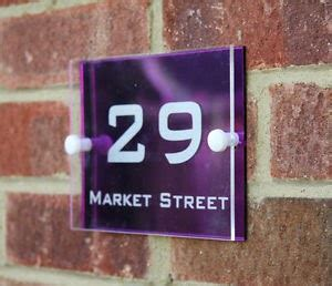 Acrylic Nomor Rumah aditya acrylic jakarta nomor rumah acrylic