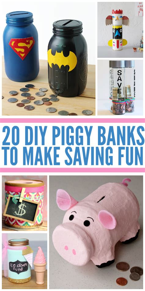 How To Make A Piggy Bank Out Of Paper Mache - 20 diy piggy banks