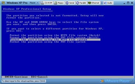 format file system windows installing windows xp page 2