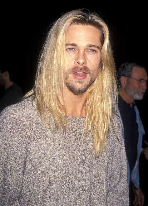 Kurt Cobain Hairstyle by November 1994 The Kurt Cobain Brad Pitt And His Hair