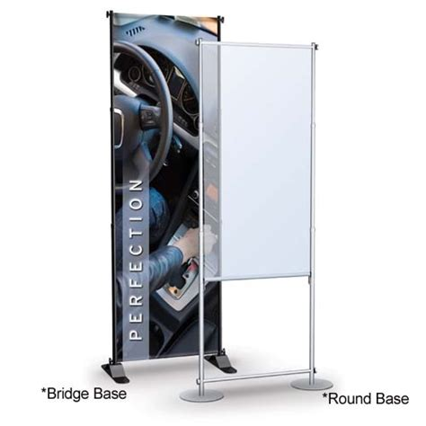 Excell Frame Stand Fs 300 pole banner stands banner stands display floor stand displays