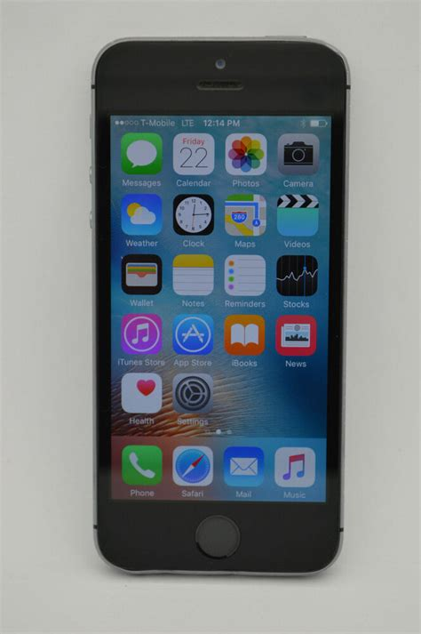 apple iphone 5s 32gb gray unlocked gsm sim tmobile simple mobile metro pcs at t ebay