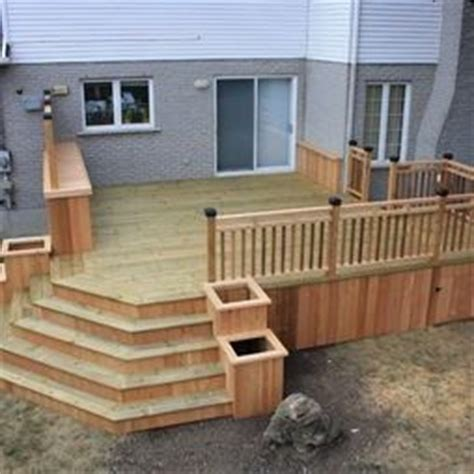 Back Porch Stairs Design Hmmm Planter Boxes Or Pots Can T Seem To Decide Along The Stairs Outdoor Living