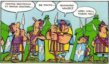 astérix et obelix   latin for everyone!
