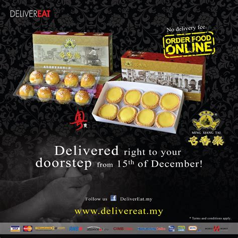 Delivered Right To Your Doorstep - delivereat my delivered ming xiang right to your