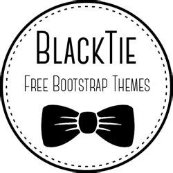 black tie bootstrap themes 1000 images about free bootstrap templates on pinterest