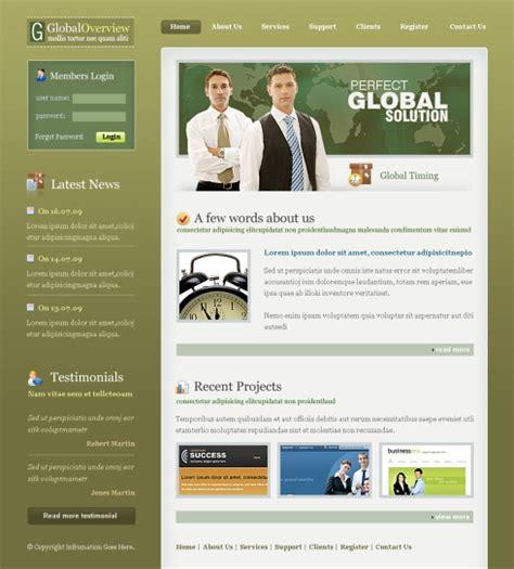 templates for organization website global organization web template 6383 business