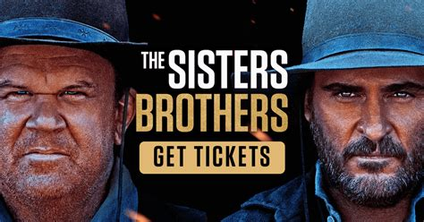 sisters brothers synopsis annapurna pictures