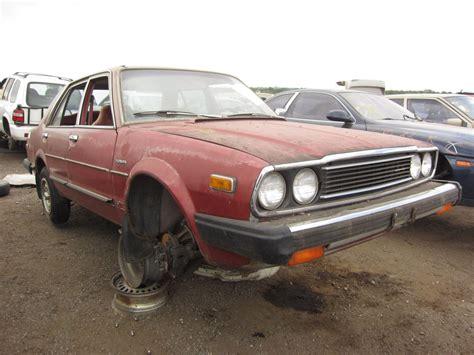 honda junk yards junkyard find 1980 honda accord sedan the about cars