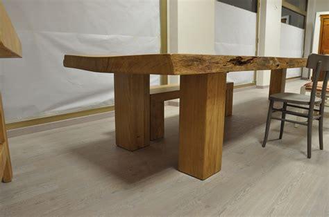 costruzione tavolo in legno tavolo in asse unica fadini mobili cerea verona