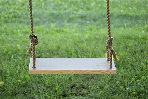 home made swing diy tree swing 187 the merrythought