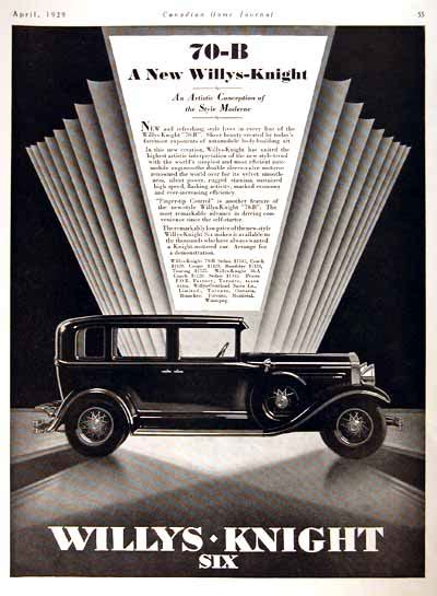 deco car ads 1929 willys 70b sedan deco classic vintage print ad