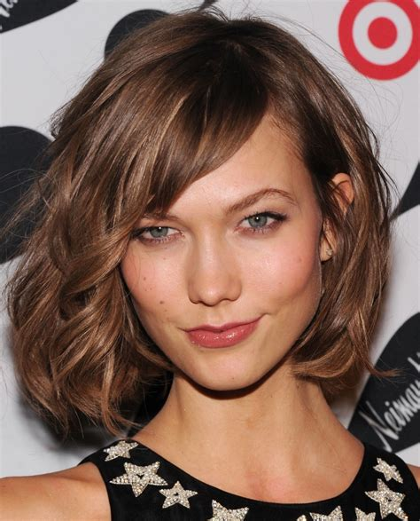 can a lob have layers medium length haircuts with bangs and layers women