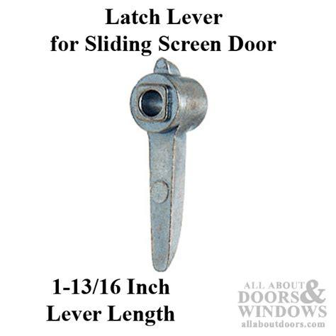 Patio Door Latch Lever Latch Lever Sliding Patio Door Diecast Aluminum