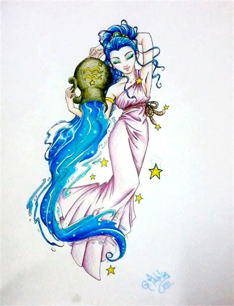 aquarius tattoo by tablis on deviantart