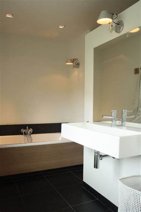 My Houzz Sophisticated Family Home Breathes Scandinavian Bathroom Lighting Houzz