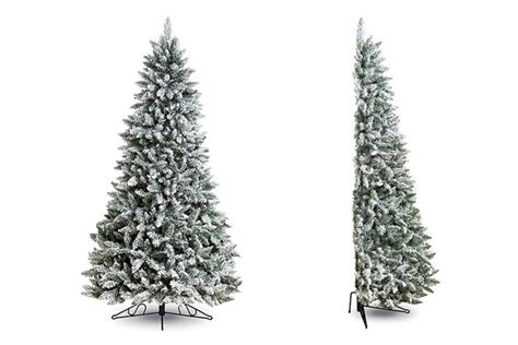 south eastern horticultural half artificial christmas tree