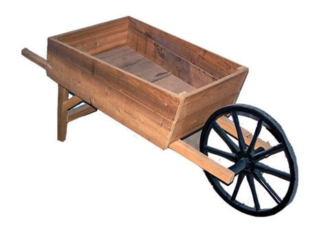 Amish Handcrafted - amish handcrafted cedar wood wheelbarrow