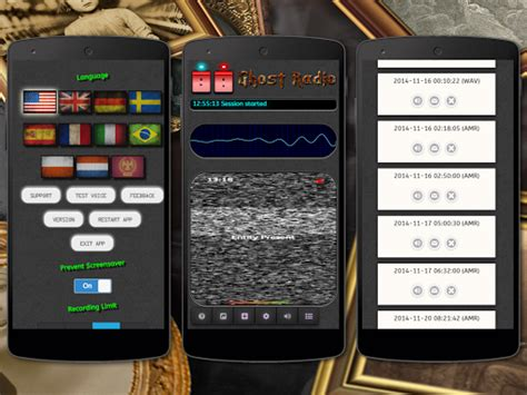 ghost apps for android paranormal ghost evp emf radio apps for android