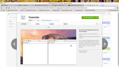chrome themes yosemite tema yellowstone tema mirip mac os x 10 10 yosemite di